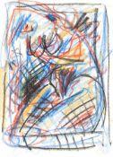 Ecker, Franz Weiblicher Akt, 1993 Ölkreide auf Papier Signiert und datiert links oben 31,8 x 24 cm