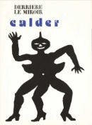 Calder, Alexander Derrière le Miror, Edition 212, Janvier 1975 Seitenanzahl: 24 / Original-
