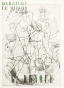 Braque, Georges Derrière le Miror, Edition 71-72, Décembre 1954-Janvier 1955 Seitenanzahl: 16