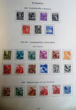 Lot 15 - Stamps, Switzerland, a collection of Swiss stamps, 1880s onwards, part sets and sets all hinge