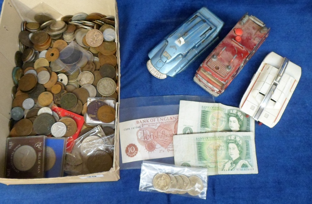 Lot 39 - Stamps and Coins, a large quantity of GB and foreign coins, various ages mostly 1850s onwards.