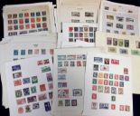 Lot 23 - Stamps, a large quantity of stamps, mostly on album pages, late 1800's onwards, many different