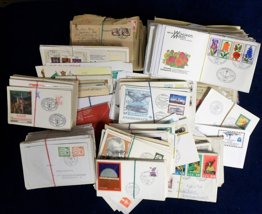Lot 31 - First Day & Commemorative covers, a very large collection of German covers mostly East German
