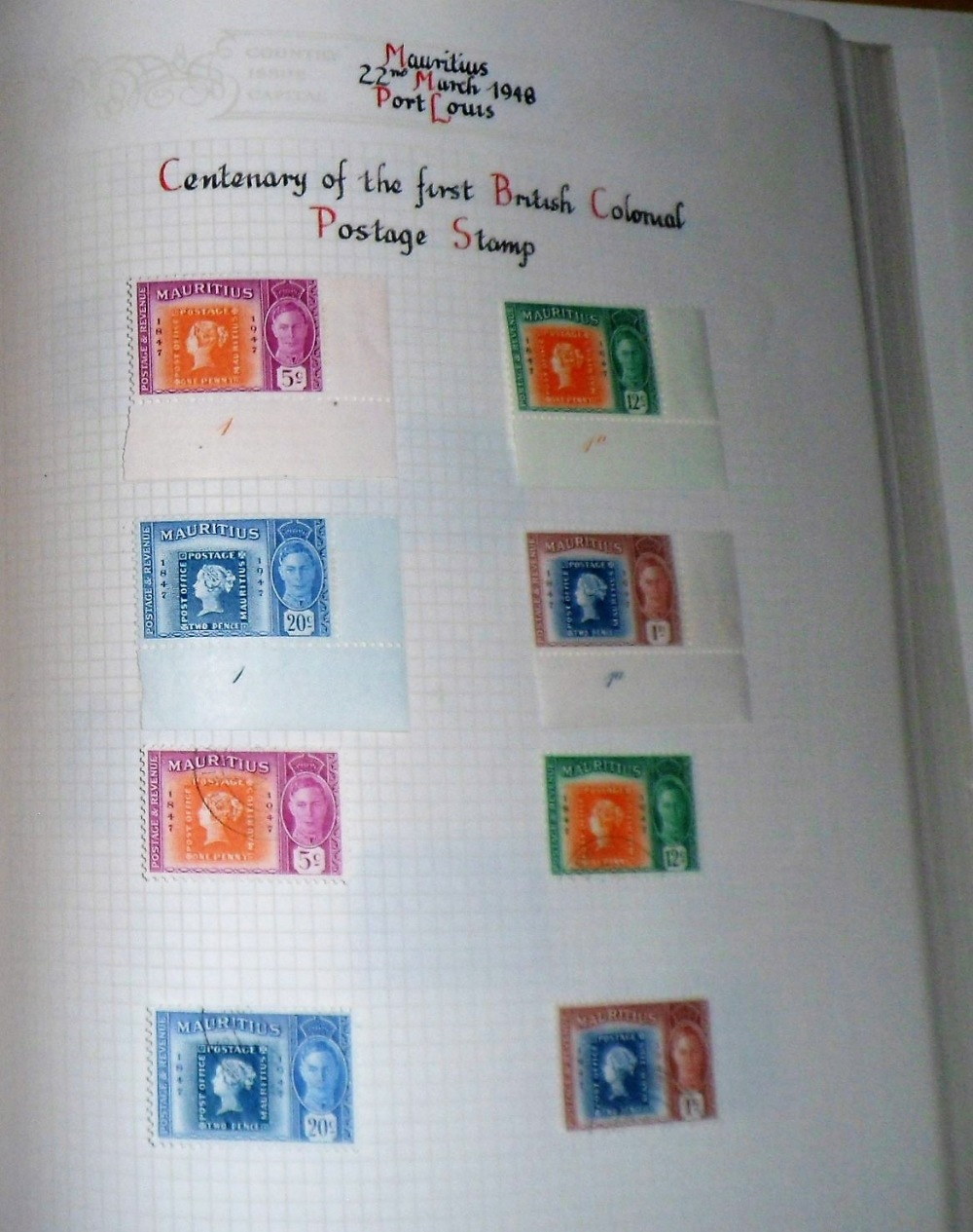 Lot 5 - Stamps, a New Age stamp album containing a good collection of GB and Commonwealth stamps, mostly