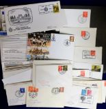 Lot 13 - Postal History, a large quantity of BFPO postal covers 1960s onwards, many on illustrated