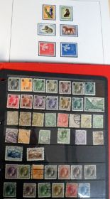 Lot 21 - Stamps, Luxembourg collection, 1940's to 70's, mint & used in Safe special album no 47 & one other