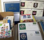 Lot 25 - Stamps & Covers, a large mixed collection inc. USA album of Historic Stamps of America all on
