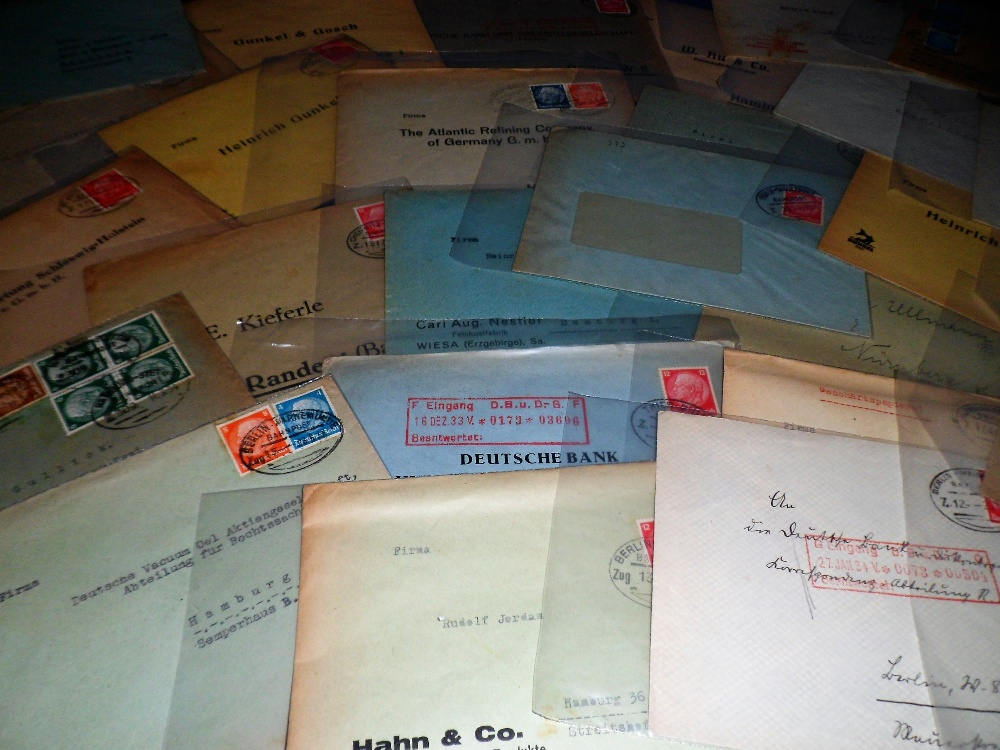 Lot 33 - Postal History / Covers, Germany, a collection of approx 40 Third Reich covers & postal