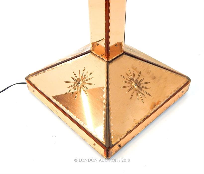 Lot 44 - A large Venetain design standard lamp