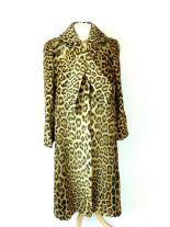 Lot 2 - A real, leopard Print Coat
