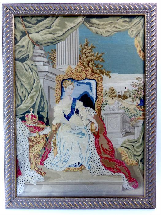 Lot 47 - Queen Victoria Needle Print
