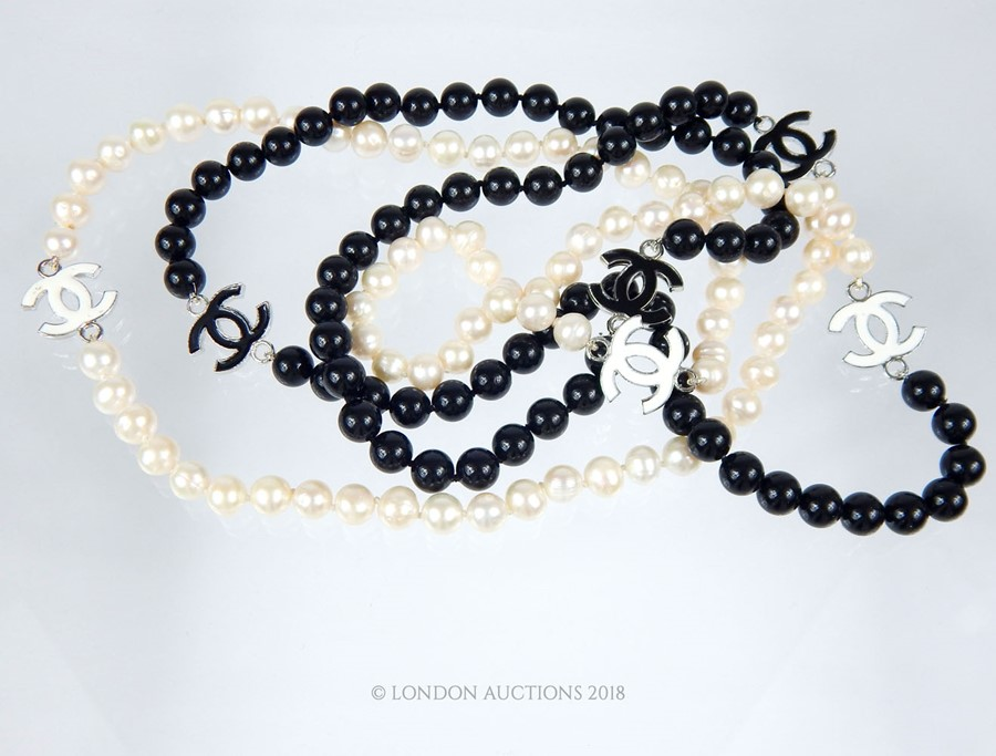 Lot 57 - A long row of freshwater pearls
