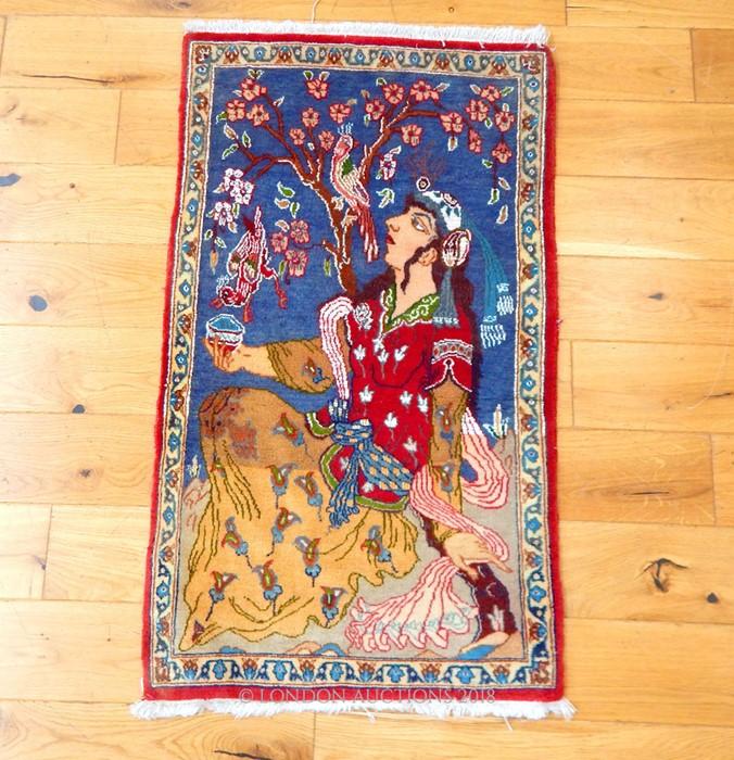 Lot 10 - A fine Persian Shiraz rug