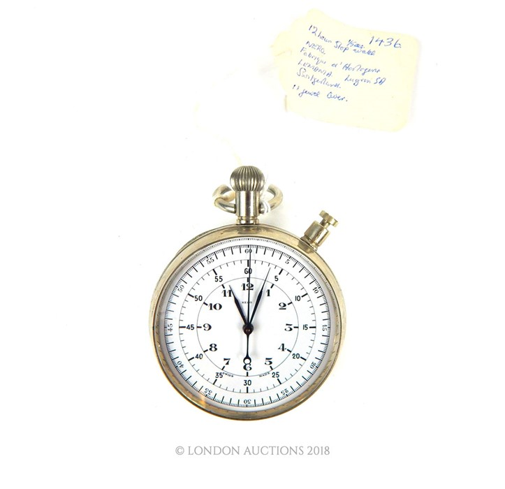 Lot 3 - A Nero twelve hour stopwatch