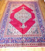 Lot 61 - A fine Northwest Persian Tabriz carpet