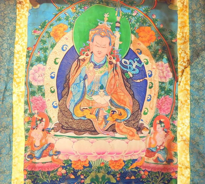 Lot 46 - A Tibetan Thangka