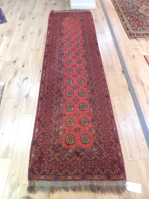 Lot 59 - A Persian Bokhara runner