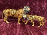 Lot 2 - A Beswick tiger 2096 and tigress 1486.