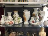Lot 60 - Fifteen pieces of Radford hand painted pottery.