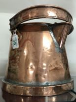 Lot 39 - A 1911 copper canal barge water carrier.