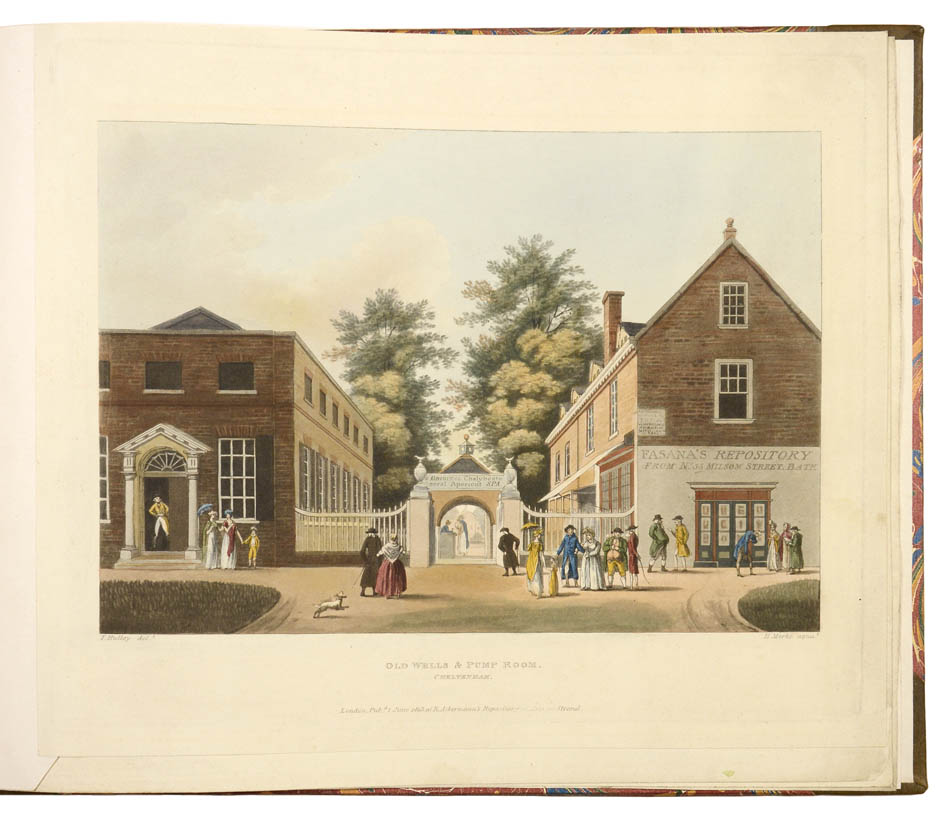 Lot 43 - HULLEY, T. Six Views of Cheltenham.