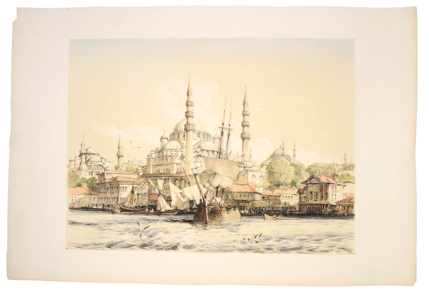 Lot 48 - LEWIS, John F. Lewis's illustrations of Constantinople