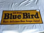 Lot 21 - Blue Bird Metal Sign, Citrus Products Company, (W. F. R. USA BB4)