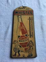 "Lot 10 - Whistle, 20 ½"" Tall x 9"" Wide, Thermometer (T6-31)"