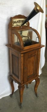 Lot 2 - Thomas Edison Amberola, Oak, Floor Standing Cabinet, Cylinder Player (DX S#20004)
