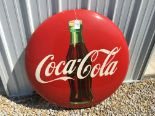 "Lot 19 - Coca-Cola 36"" Round Sign, AM-10-56X"