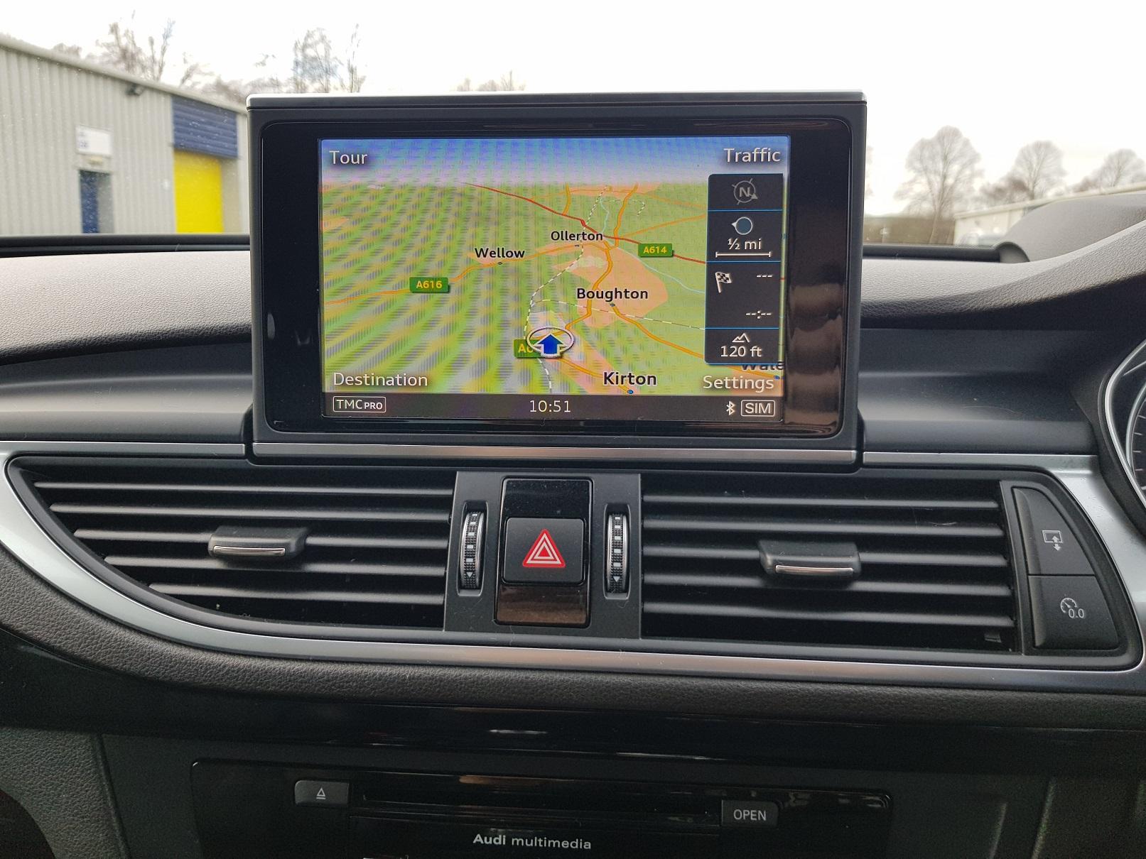 K 2016 66 Reg Audi A7 S Line Tdi Quattro Automatic Bi
