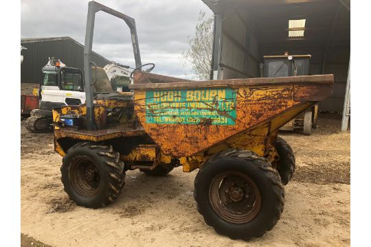 benford 5 6 and 7 tonne dumper parts manual
