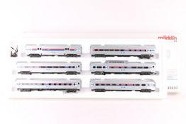 Märklin 43600, Streamliner-Set Amtrak Märklin 43600, Streamliner-Set Amtrak, sechs US-