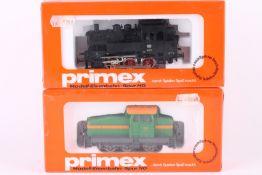 Primex (Märklin), 3189 und 3190, zwei Loks Primex (Märklin), 3189 und 3190, zwei Loks, ungeöffnete