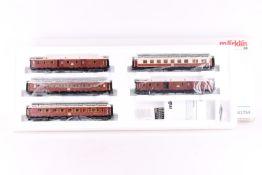 Märklin 42754, Internationaler Luxus-Zug um 1910 Märklin 42754, Internationaler Luxus-Zug um 1910,
