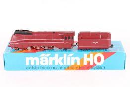 """Märklin 3089, Stromlinien-Dampflok """"03 1055"""" Märklin 3089, Stromlinien-Dampflok """"03 1055"""","""