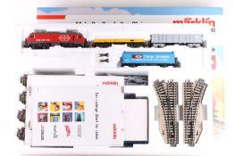 """Märklin 2974, DELTA Güterzug-Startpackung Märklin 2974, DELTA Güterzug-Startpackung, Elok Re 4/4 """""""
