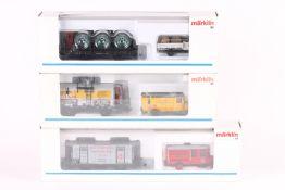 Märklin, drei Museumswagen Märklin, drei Museumswagen, 1995, 1997, 1999, sehr gut erhalten, ORK
