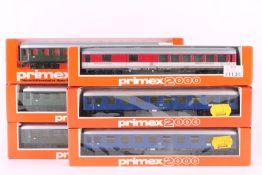 Primex (Märklin), sechs Schnellzugwagen Primex (Märklin), sechs Schnellzugwagen, 2 x 4011, 3 x 4012,