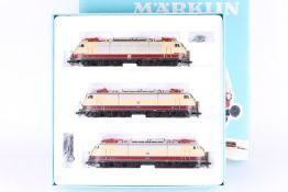 """Märklin 37574, """"175 Jahre Eisenbahn in Deutschland"""", drei Eloks Märklin 37574, """"175 Jahre"""