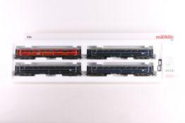 """Märklin 42281, Schnellzug-Wagenset """"Glückauf"""" Märklin 42281, Schnellzug-Wagenset """"Glückauf"""", vier"""