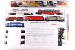 """Märklin 29805, """"Einsteigen und Losfahren ..."""", Güterzug-Start-Set Märklin 29805, Güterzug-Start-Set,"""