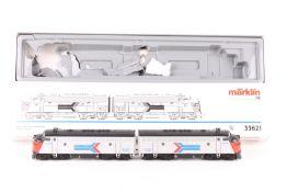 """Märklin 33621, US-Doppel-Diesellok EMD F 7 """"102"""" und """"105"""" Märklin 33621, US-Doppel-Diesellok EMD"""