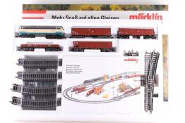 """Märklin 2983, DELTA Güterzug-Startpackung Märklin 2983, DELTA Güterzug-Startpackung, Diesellok """""""