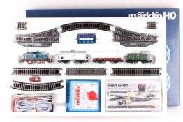 "Märklin 2980, Güterzug-Start-Set Märklin 2980, Güterzug-Start-Set, Diesellok ""260 789-3"", drei"