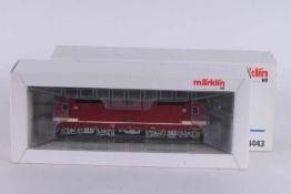 """Märklin 3443, Elektrolok """"243 897-6"""" der DR (DDR) Märklin 3443, Elektrolok """"243 897-6"""" der DR (DDR),"""