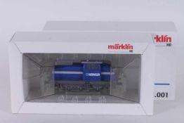 """Märklin 3078.001, Werksdiesellok DHG 500 """"HANSA"""" Märklin 3078.001, Werksdiesellok DHG 500 """"HANSA"""","""