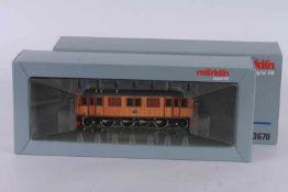"""Märklin 3670, Elektrolok """"109"""" der SJ Märklin 3670, Elektrolok """"109"""" der SJ, Digital-Technik,"""