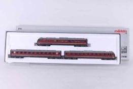 """Märklin 39080, dreiteiliger Dieseltriebwagen """"VT 08 502"""" der DB Märklin 39080, dreiteiliger"""