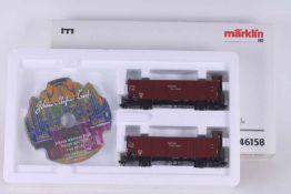 """Märklin 46158, Güterwagen-Set """"Orgeltransport"""" Märklin 46158, Güterwagen-Set """"Orgeltransport"""","""